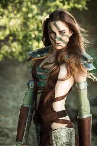 Sexy-cosplay-of-The-Elder-Scrolls-V-female-character